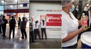 Clausuran Plaza Vea y Wong de La Molina tras hallar alimentos en mal estado
