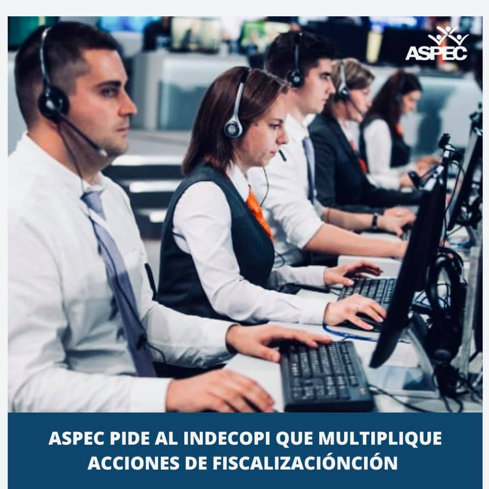 ASPEC PIDE AL INDECOPI QUE MULTIPLIQUE ACCIONES DE FISCALIZACIÓN