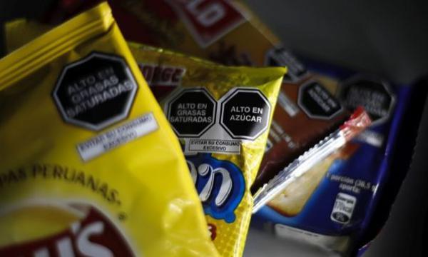 Amplían plazo hasta marzo 2022 para que octógonos estén impresos en los empaques de alimentos