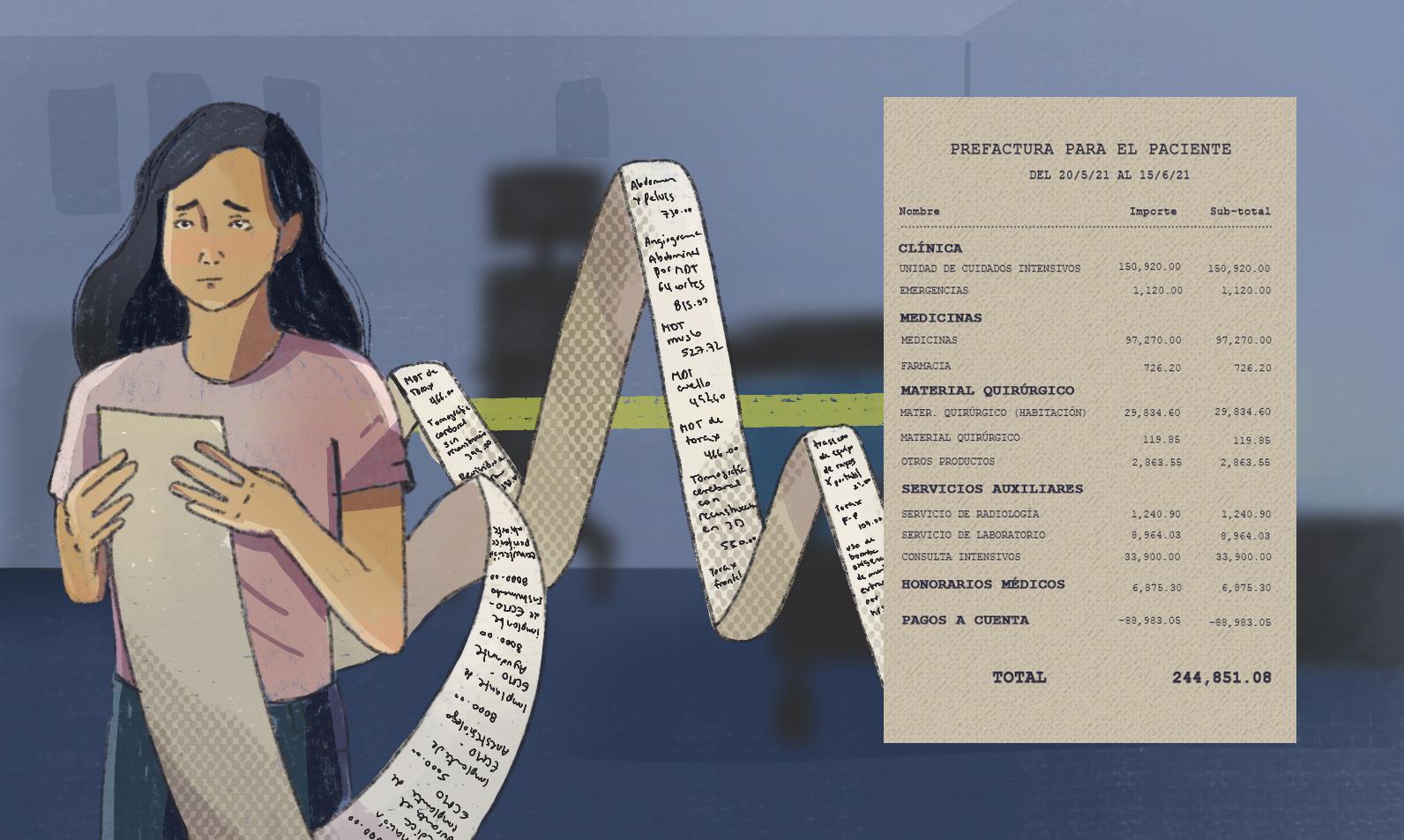 Después del dolor: las millonarias deudas de las familias afectadas por Covid-19
